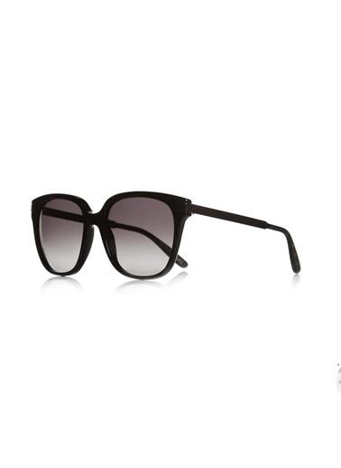 Bottega Veneta B.V 280/S 263 Hd Dikdörtgen Camlı Kemik Gövde Kadın Güneş Gözlüğü Renkli